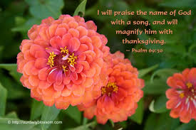 bible verse psalm 69 30 our daily blossom