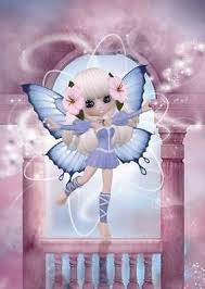 little fairies fantasy range of greeting cards for women and