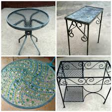 paint glass table top spray paint glass patio table images table decoration ideas