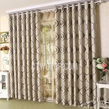 Decorative Curtains Modern Polyester Decorative Bedroom Blackout Curtains