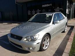 lexus is300 silver parting out 2001 lexus is 300 stock 3013br tls auto recycling