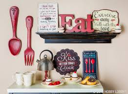 red kitchen decor never goes out of style especially with a good