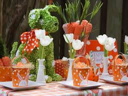 Easy Outdoor Easter Decorations by 15 Easter Table Decorations And Settings Hgtv