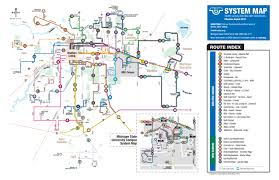 Michigan State University Map by Fixed Routes Find Bus By Service Routes U0026 Schedules Cata