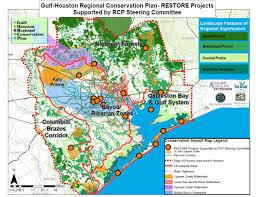 Galveston Island Map News U2014 Gulf Houston Regional Conservation Plan