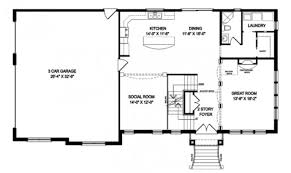 one story open floor plans charming design 6 2 story house plans with open floor 26 top
