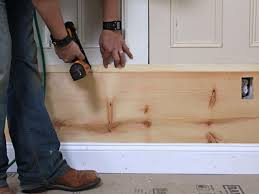 Diy Wood Panel Wall by How To Build Custom Wall Paneling How Tos Diy