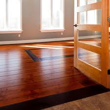 prefinished wide plank oak hardwood flooring tiles in living room