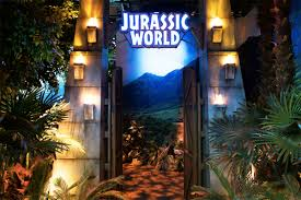 jurassic world jeep blue franklin institute u0027s jurassic world exhibit lets you walk among