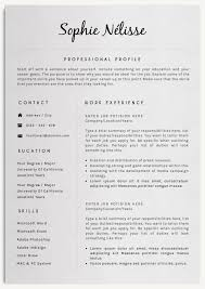 Template For Professional Resume Professional Resume Template By Creativelab On Creativemarket