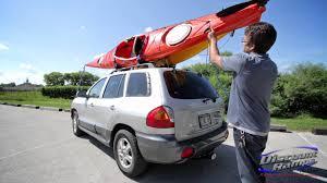 Audi Q5 Kayak Rack - how to tie down bow u0026 stern youtube