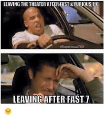 Fast 6 Meme - give me that paul walker see you again scene from fast 7 my g