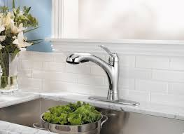 pfister clairmont handle pull out kitchen faucet polished functional pull out faucet with elegant modern design view larger