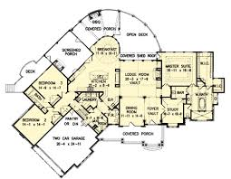 The Amicalola Cottage House Plans First Floor Plan House Plans Amicalola Cottage House Plans