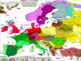 European Map by Languages In Europe Map
