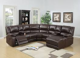curved sectional sofas you ll love wayfair reclining sectional