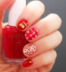 cherry nail art 3d nail art pinterest cherry nail art