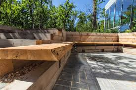 Wood Outdoor Bench Modern Outdoor Patio Benches Outdoor Benches 21 Image 21 Of 21