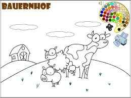 farm coloring pages kids farm coloring pages