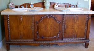 Old Dresser Made Into Bathroom Vanity Diy Buffet Into Bathroom Vanity Buffet Turned Bathroom Vanity Tsc