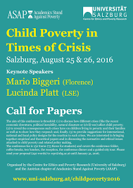 child poverty in times of crisis of salzburg