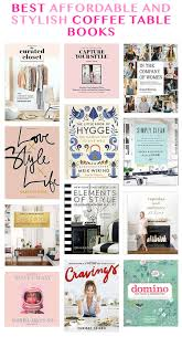 best affordable and stylish coffee table books and a huge