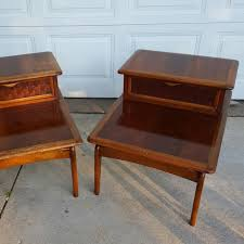 lane furniture coffee table pair of vintage lane furniture end tables midcentury high quality