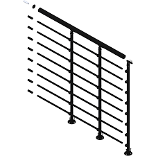 Banister Parts Decorations Rod Iron Railings Wood Banister Indoor Stair