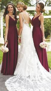 burgundy dress for wedding the 25 best burgundy bridesmaid dresses ideas on