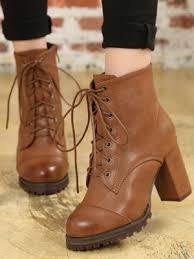 buy boots for cheap in india boots lace up pu high heeled boots shopping india