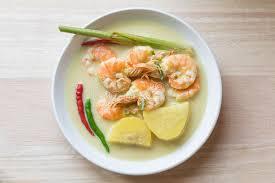cuisine n駱alaise cuisine malaise traditionnelle d udang masak lemak cuisinier de