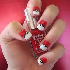 gormay nails pokéball nails