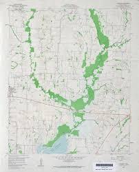 Map Of Lake Washington by Pre 1974 Lavon Map