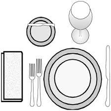 Formal Breakfast Table Setting Design Tip Table Setting