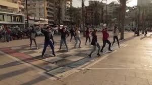 dabkhe flash mob in beirut youtube