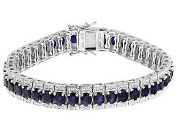 blue sapphire sterling silver bracelet images Bracelets buy bracelets online jtv jpg&a