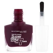 buy maybelline new york nail polish 05 extreme blackcurrant 10ml