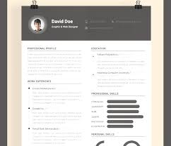 best resume templates free downloadable best modern resume templates 13 best cv exles