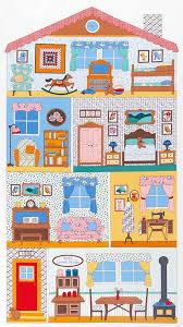 robert kaufman fabrics penny u0027s dollhouse by darlene zimmerman