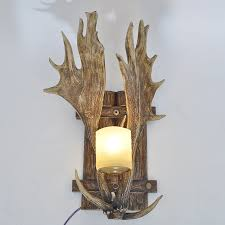 Antler Wall Sconce Popular Antlers Wall Lamp Buy Cheap Antlers Wall Lamp Lots From