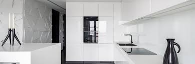 white gloss glass kitchen cabinets high gloss kitchen cabinet doors pros and cons the
