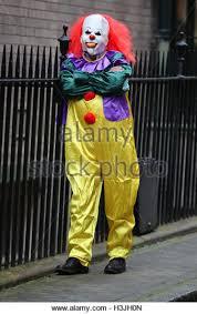 killer clown costume killer clown stock photos killer clown stock images alamy