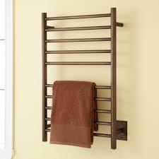 Oil Rubbed Bronze Bathroom Shelves by Bathroom Oil Rubbed Bronze Heated Towel Bar For Bathroom