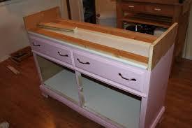 dresser kitchen island converting a dresser into a kitchen island part 1 mike s