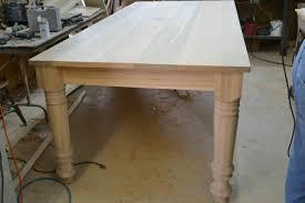 Building A Farmhouse Dining Table Diy Farmhouse Dining Table Plans Farm Dining Table By The
