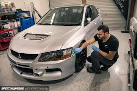 mitsubishi lancer evo 3 initial d introducing project nine speedhunters