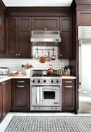 marron cuisine meuble cuisine marron comment repeindre une cuisine idaces en photos