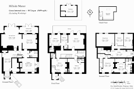 Georgian Mansion Floor Plans Georgian Manor House Floor Plan House And Home Design