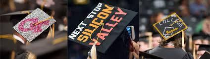 graduation caps decorations student alumni association graduation cap decoration