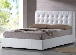 Tufted Bed Queen Queen Size Bed With Tufted Headboard